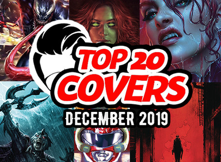Designer's Top Comic Book Covers of December 2019