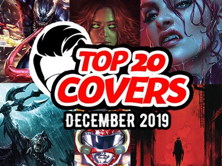 Designer's Top Comic Book Covers of December 2019