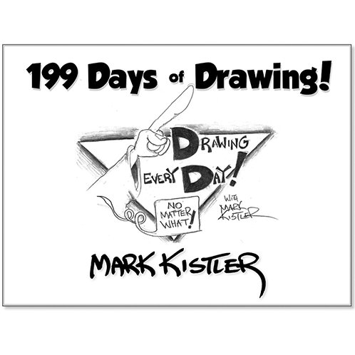 "199 Days of Drawing"" Book"