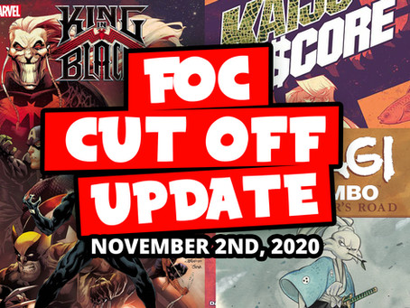 DON'T MISS OUT: FOC 11/02