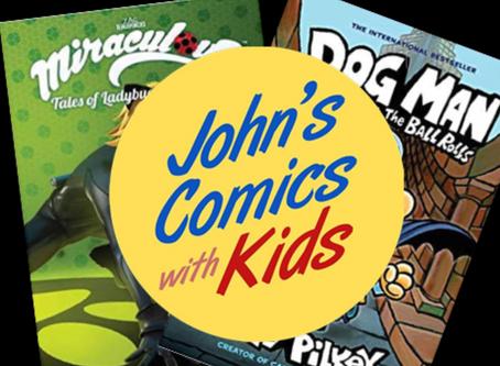 Saturday Morning Comics: Miraculous and Dogman!!