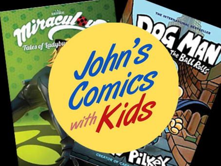 Saturday Morning Comics: Miraculous and Dogman!!