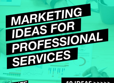 Ten Marketing Tips for Professional Services