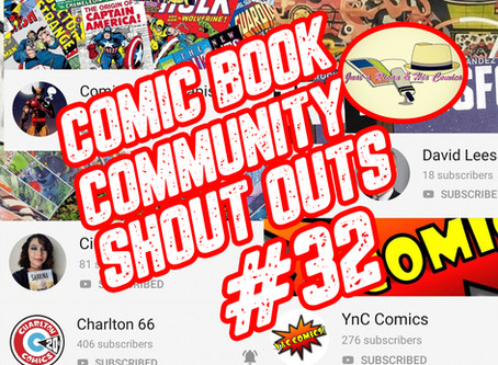 Comic Book Community Shout Outs