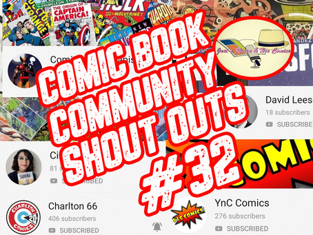 Comic Book Community Shout Outs