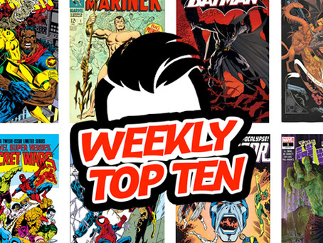 Weekly Top Ten Aug 16, 2019