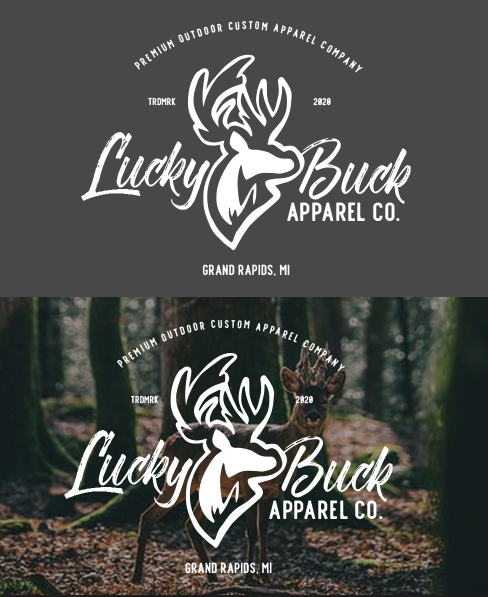 Lucky Buck Logo and Branding