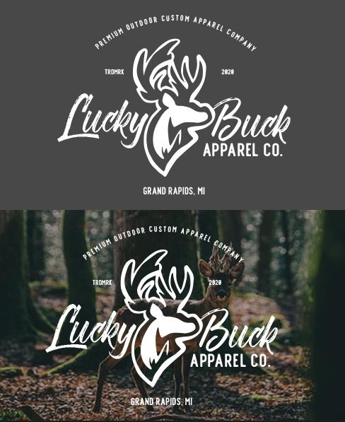 Lucky Buck Logo and Branding
