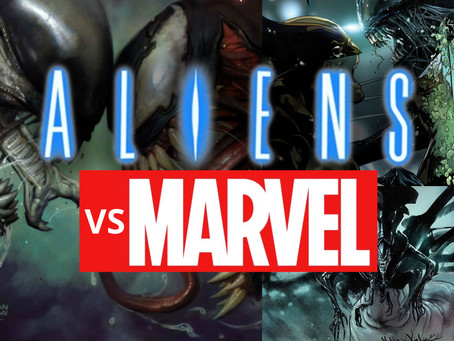 Aliens Take Over Marvel!