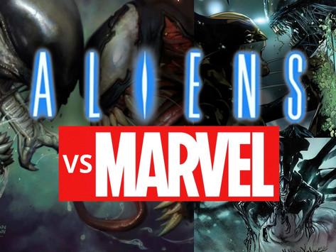 Aliens Take Over Marvel!