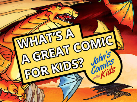 "Great Comics for Kids - ""Wings of Fire"""