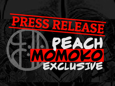 PRESS RELEASE- ANNOUNCING WORLD'S FIRST EVER OFFICIAL PEACH MOMOKO MERCHANDISE