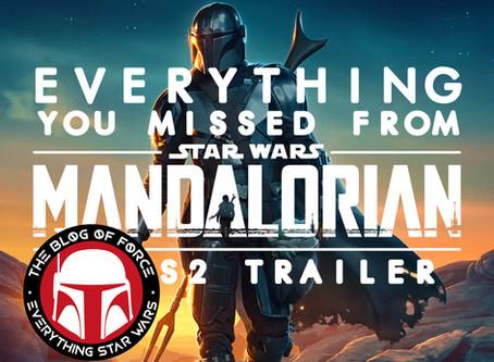 The Mandalorian Season 2 Trailer: Everything You Missed