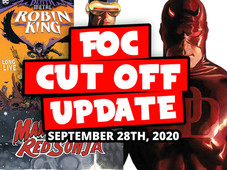 DON'T MISS OUT FOC this week 9/28