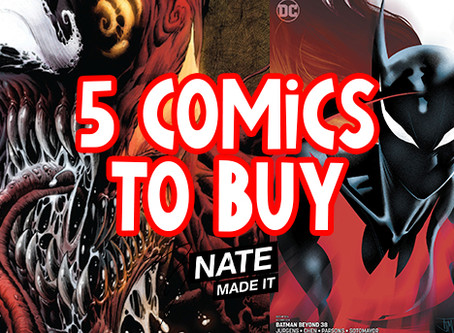 5 Comics To Buy 11-27-19