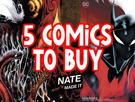 5 Comics To Buy 11-27-19