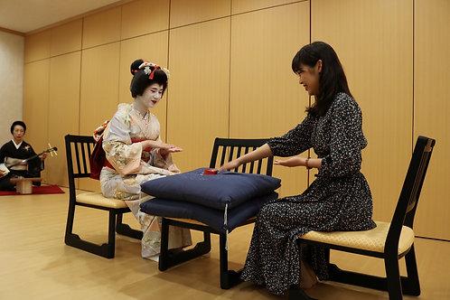 【福岡/体験】博多の伝統芸能「博多芸妓」の世界を体感する