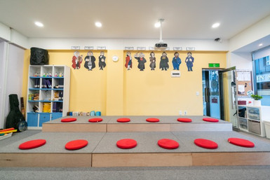 Elementary School Art Room and Music Room