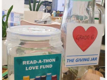 코너스톤 초등부, '책' 읽고 '기부'도 하는 <Read-A-Thon> 캠페인