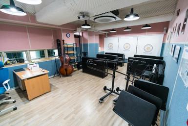 Middle & High School Art RoomMusic Room