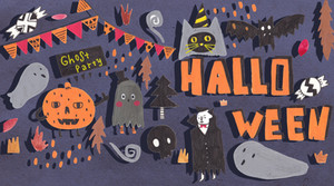 2017 Halloween Illustration x FREER