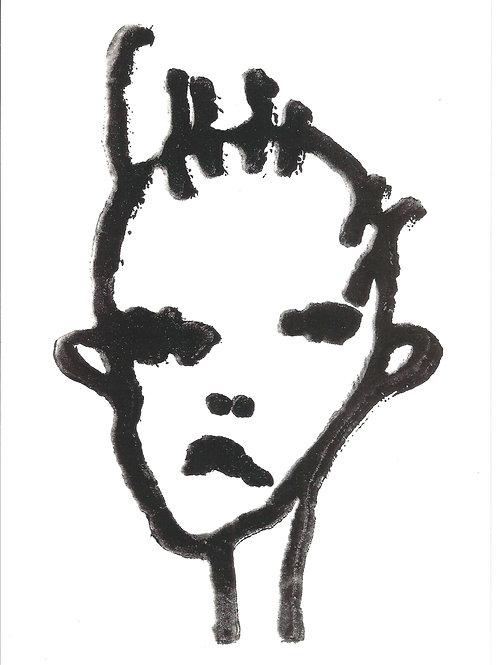 'Poltergeist' illustration print
