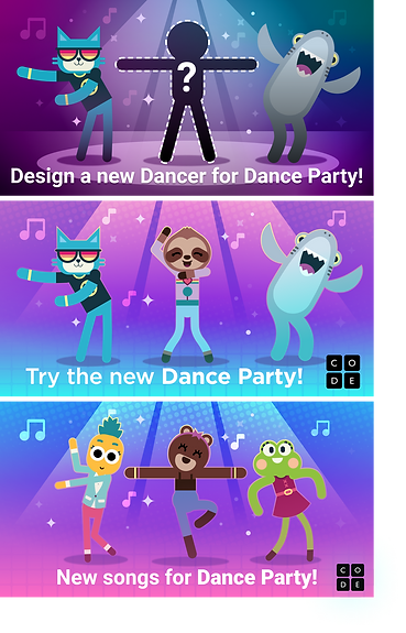 Dance Party Marketing