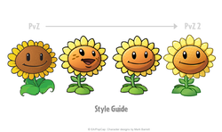 PVZ2_StyleProcess_Sunflower