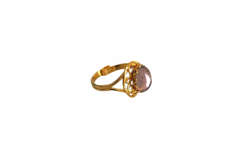 Shielded Gem Ring