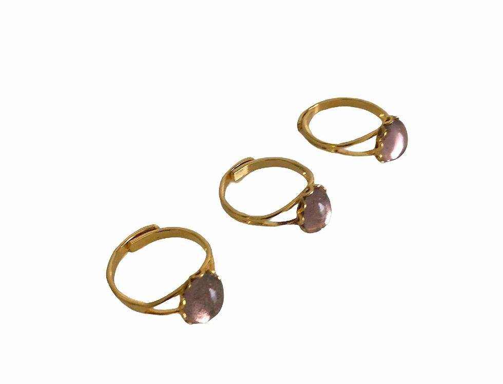 Sparkling Purple Ring