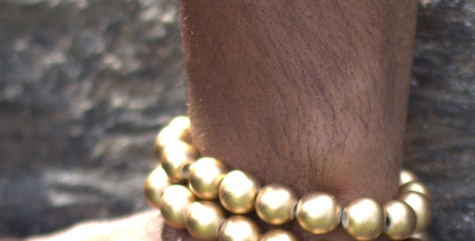 Gold Bali King Bracelet