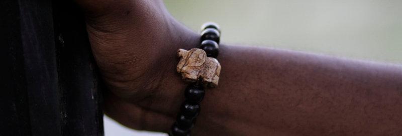 Elephant Beaded Bracelet (more colors!)