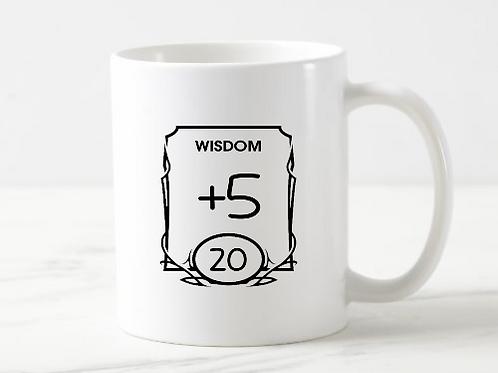 Wisdom Stat Mug