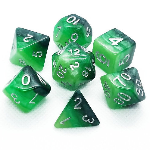 Deep Forest | Polyhedral Dice Set