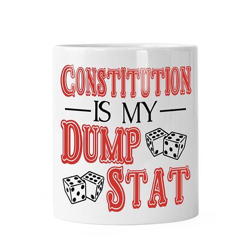 Constitution Dump Stat Dice Shaker