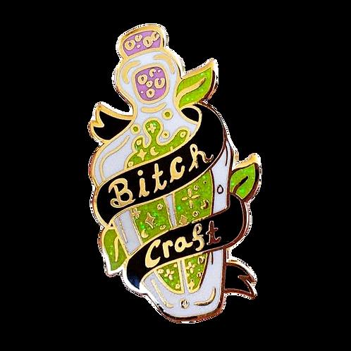 Bitch Craft   Enamel Pin