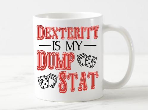 Dexterity Dump Stat Mug