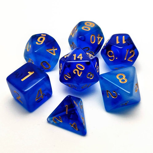 Shape Water | Polyhedral Dice Set