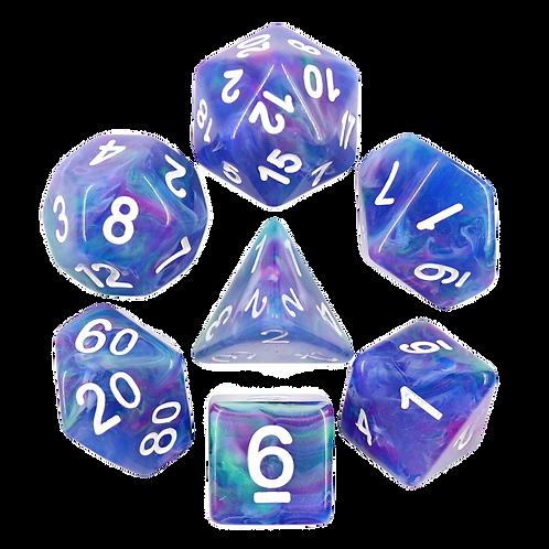Northern Lights | Polyhedral Dice Set