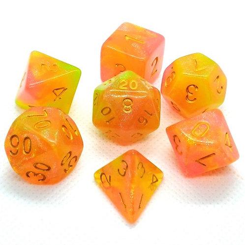 Pink Lemonade | Polyhedral Dice Set