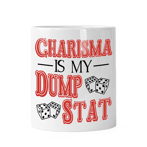 Charisma Dump Stat Dice Shaker