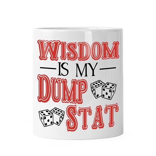 Wisdom Dump Stat Dice Shaker