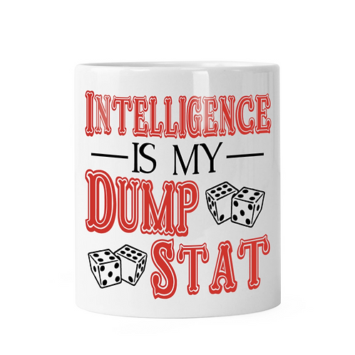 Intelligence Dump Stat Dice Shaker