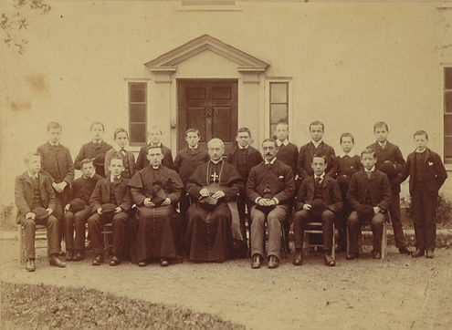 First students at Henfield, 1889.jpg