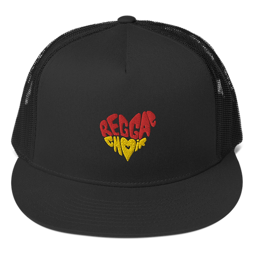 Reggae Choir Trucker Cap