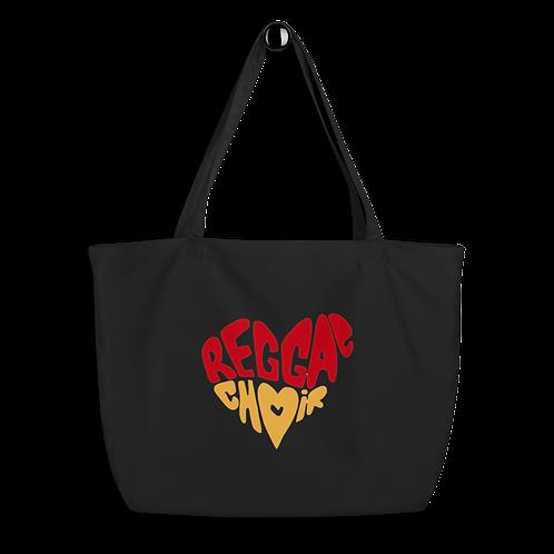 Reggae Choir Large Organic Tote Bag