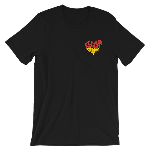 Reggae Choir Branded Black Tshirt - Unisex