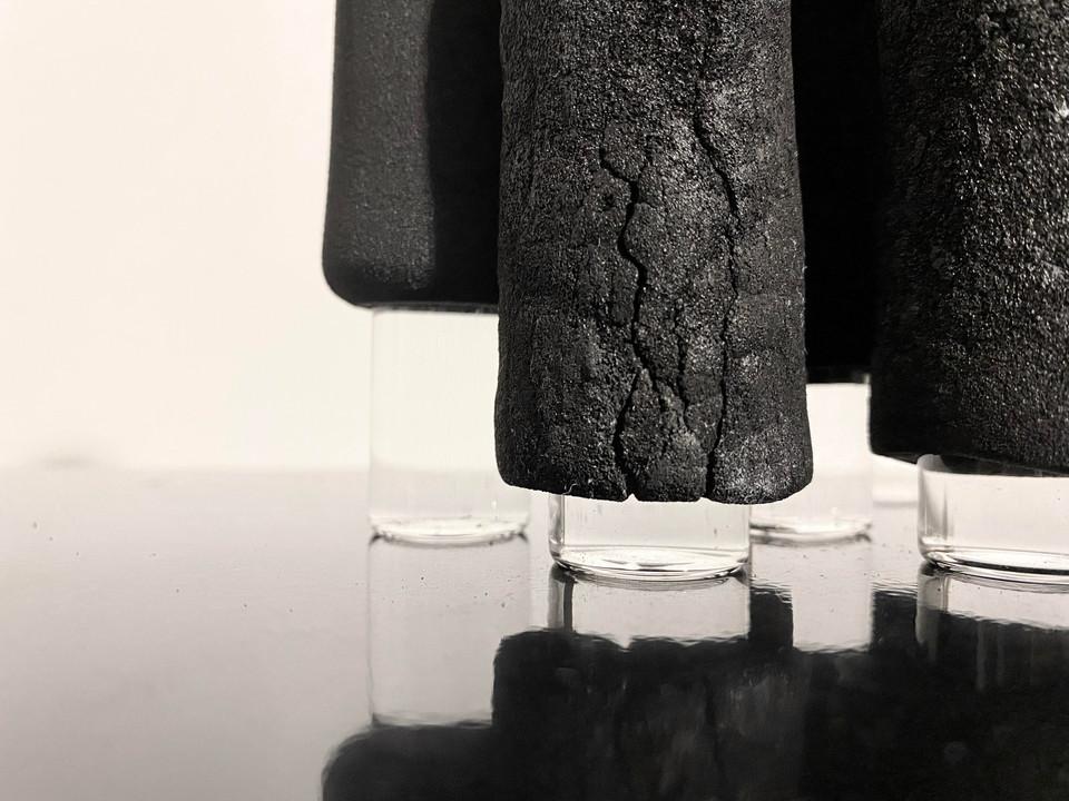 炭を生む / Produce Charcoal