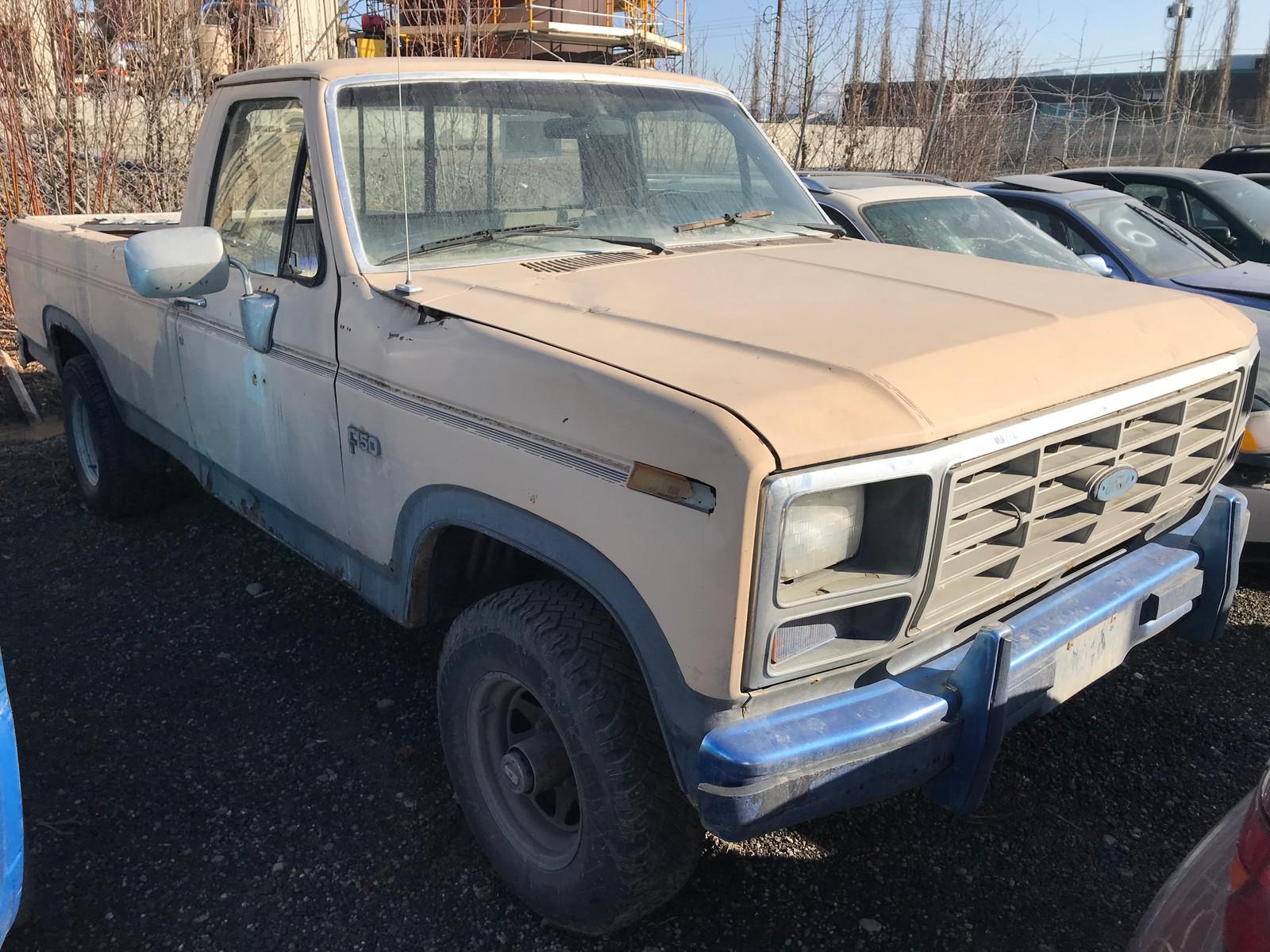 1985 Ford F 150 Truck