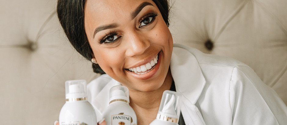 Get Ready with Me: Pantene Waterless Collection